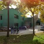Vista Nord Edificio Con Copertura Fotovoltaica.